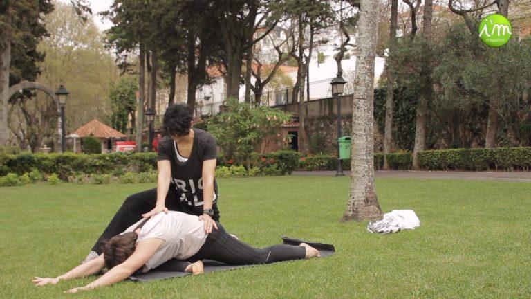 Treino Outdoor de Flexibilidade com Maria & Paula, Personal Trainers