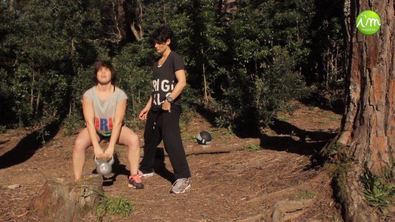 Treino Outdoor com Pesos, com Maria & Paula, Personal Trainers